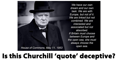 A Revealing Deception About Winston Churchill New Europeans