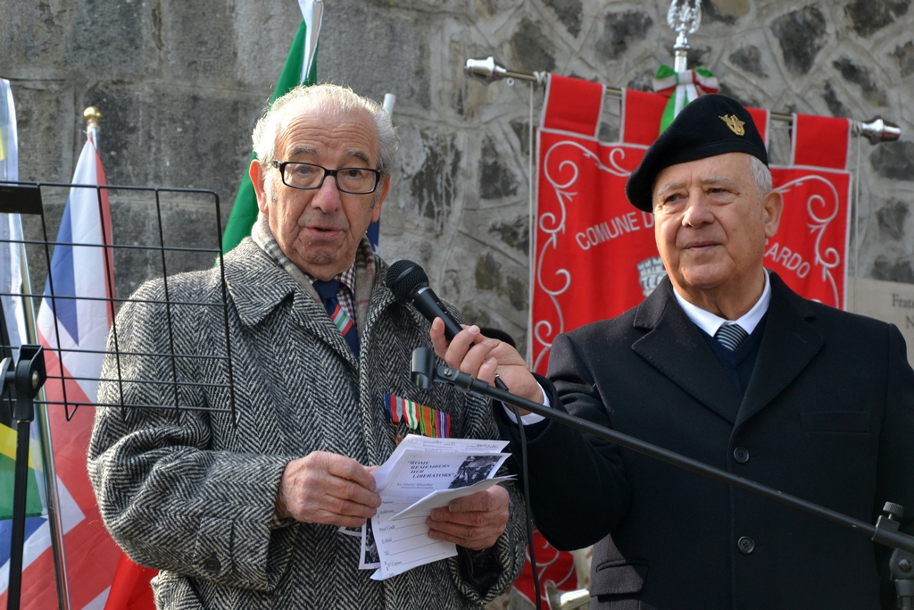 """Anzio veteran and Votes4Life lead campaigner Harry Shindler MBE   """"Democracy for everyone is what my friends gave their lives for at Anzio."""""""