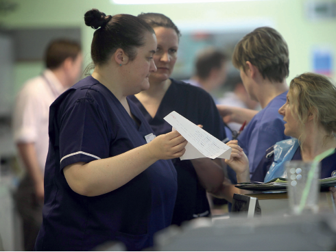 """EU nurses contribute significantly"" says Estephanie Dunn. Photo: Christopher Furlong / Getty"