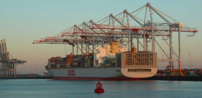 Southampton Container Terminal. Photo: Nigel Brown via a CC BY 2.0 licence