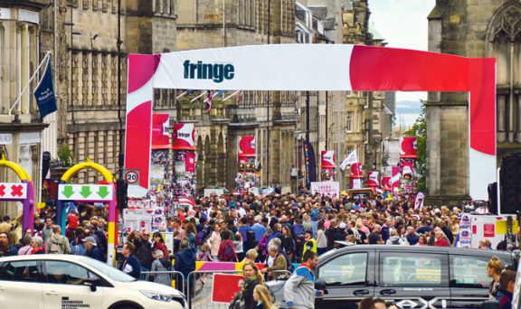 "Like the world famous Edinburgh Fringe Festival, civil society should occupy the ""spaces in between"""