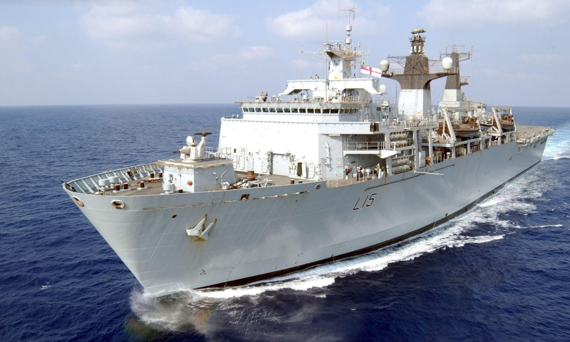 Following a reversal of government policy, HMS Bulwark rescues 1,000 migrants from the Mediterranean, June 2015