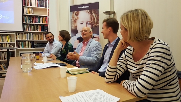 Panel, New Europeans Oxford launch event, September 2015