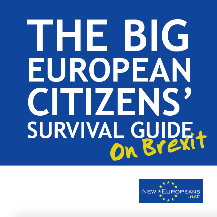 Available one line at www.neweuropeans.net/surviving-brexit