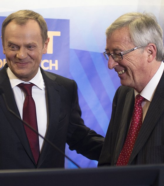 """""""I love Britain and Brussels"""", Donald Tusk; """"I love Brussels more than everywhere else in the European Union"""", Jean-Claude Juncker"""