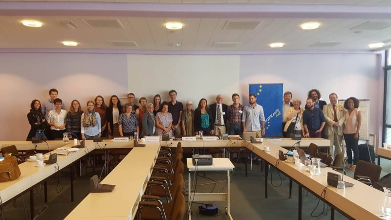 At the ECIT Foundation's Summer University, MAI Brussels, August 2016
