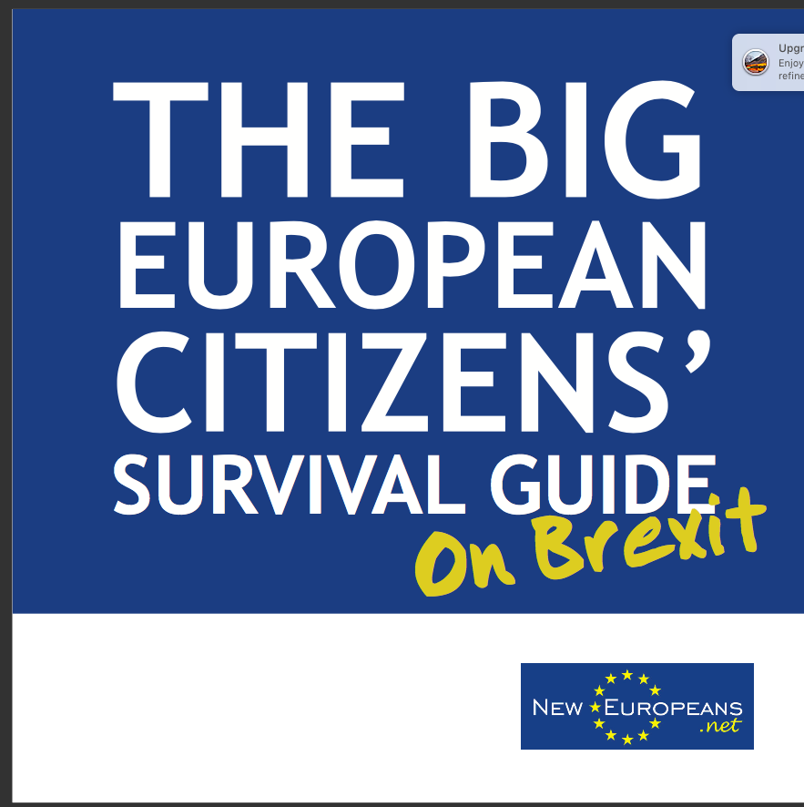 Our fourth guide is a post-Brexit guide for EU citizens living in the UK covering general information about citizenship and rights that will enable them to make choices about their future.