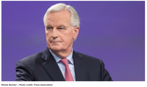 "The EU's chief Brexit negotiator, Michel Barnier is being urged to back calls to grant ""unilateral guarantees"" to Britons living and working in Europe."