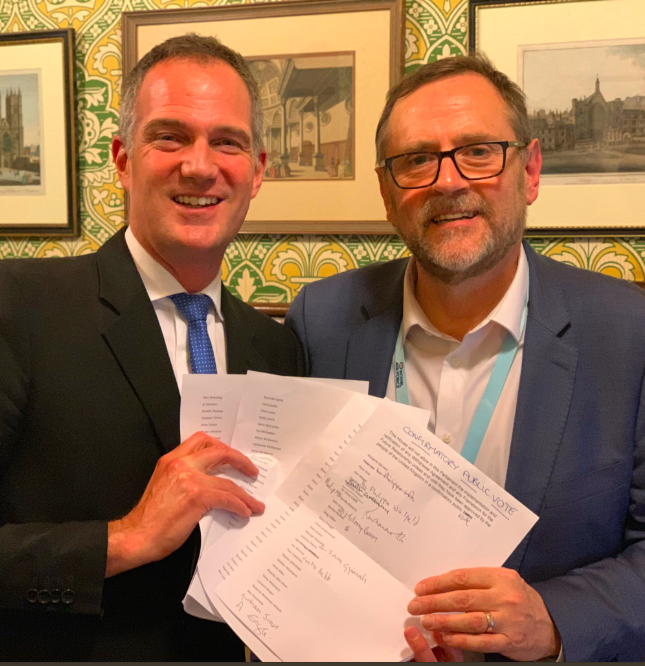 Peter Kyle MP and Phil Wilson MP table their amendment
