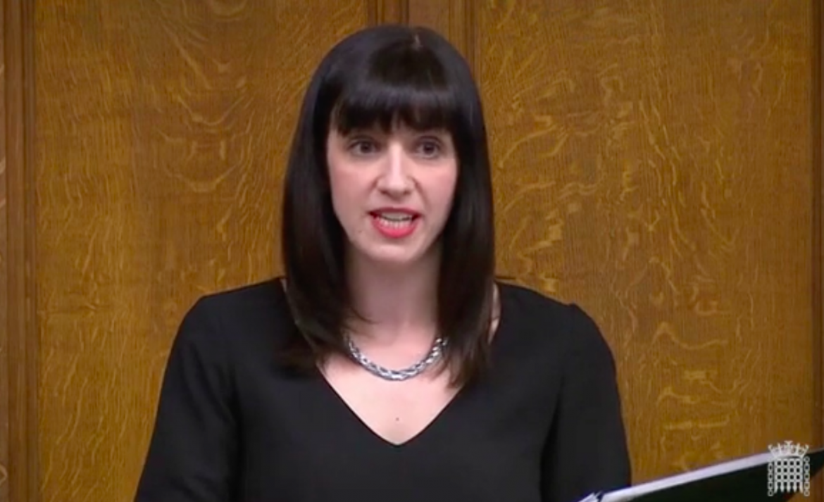 Bridget Phillipson MP answering questions in the House of Commons, 9 May 2019