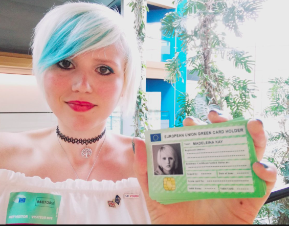 Madeleina Kay, Young European of the Year, EU Supergirl