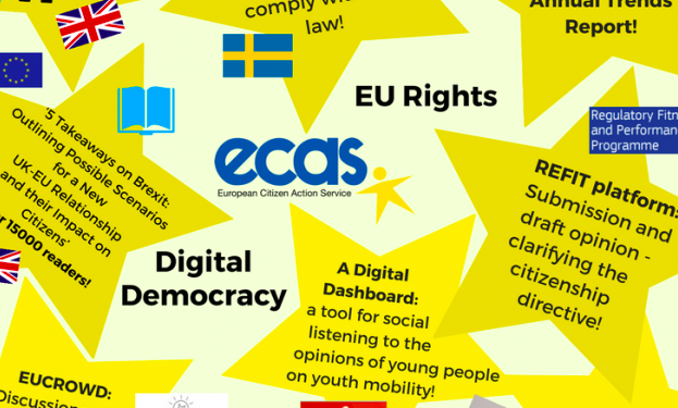 ECAS is an NGO empowering citizens and civil society within the European Union to exercise their rights and promoting open and inclusive decision-making.