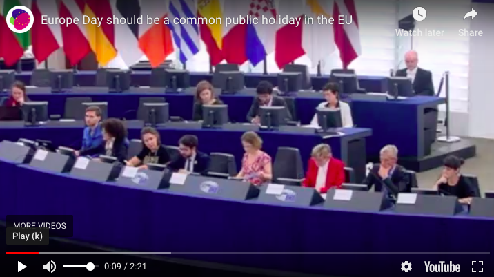 EU Day Hearing in the European Parliament, March 2019