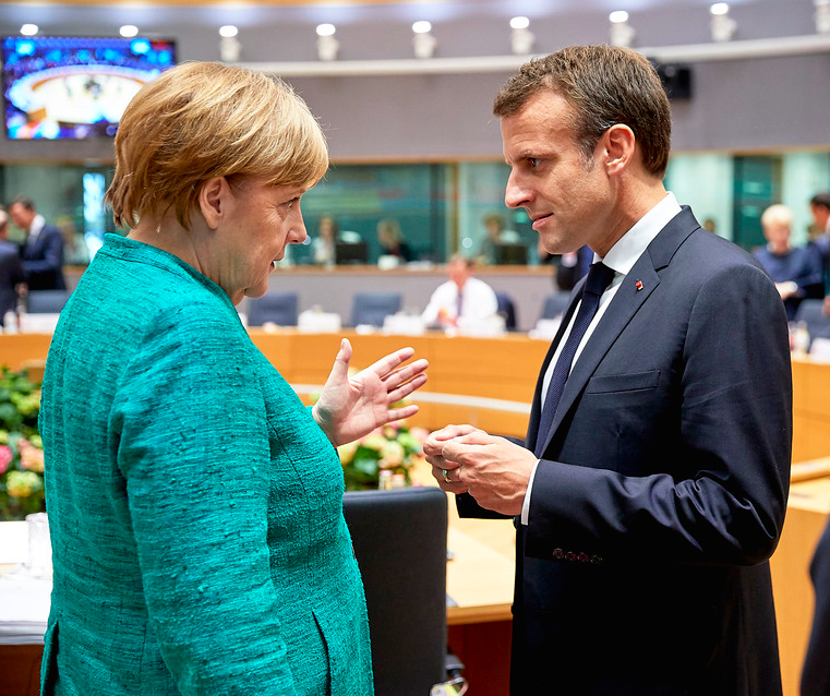 Merkel and Macron plan the European recovery (Photo: Council of the European Union)