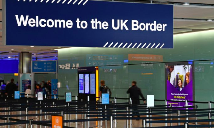 The UK government ended free movement with the EU on 31 December 2020