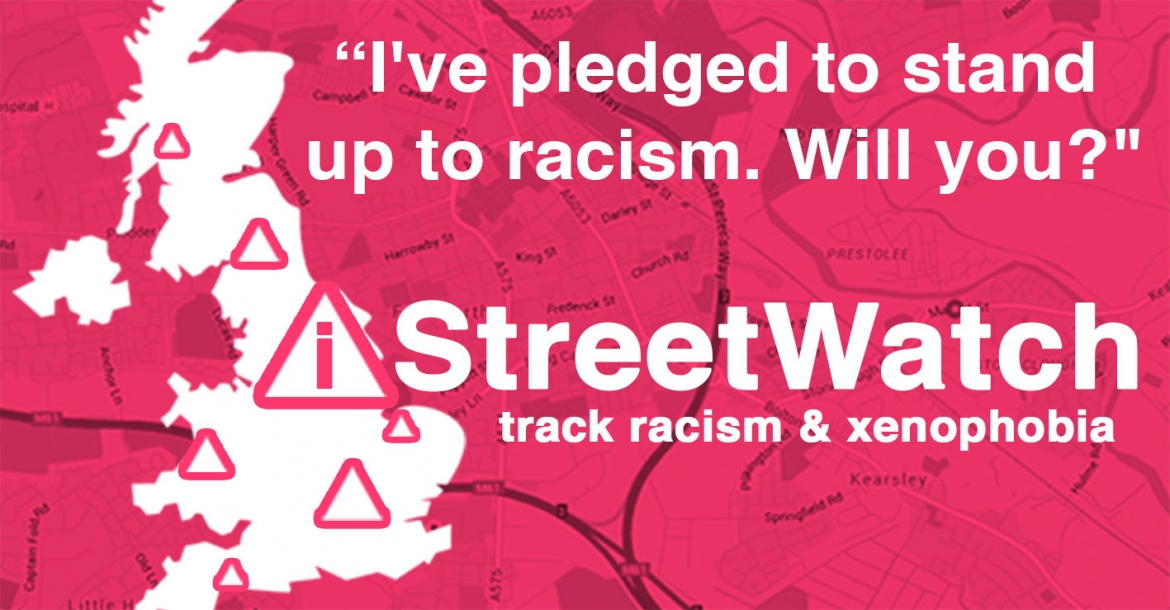 The iStreetWatch platform is run by Migrants' Rights Network