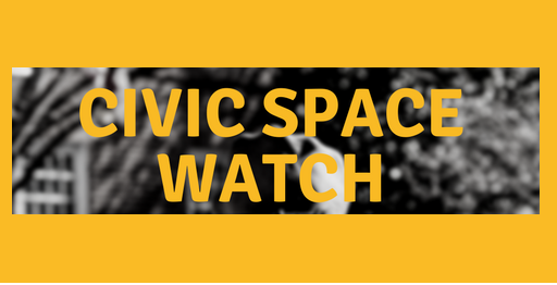 Civic Space Watch now up and running