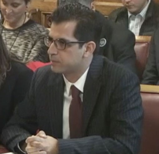 Dimitrios Giannoulopoulos, Director of the Britain in Europe think tank and academic adviser to 'New Europeans'