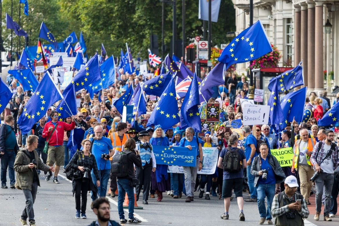 The People's March for Europe, 9 September 2017