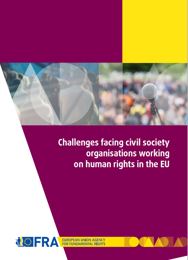 "The new report ""Challenges facing civil society organisations working on human rights in the EU"" is now available to download."