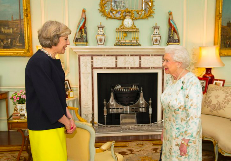 """""""Permission to trigger Article 50, Ma'am?"""""""