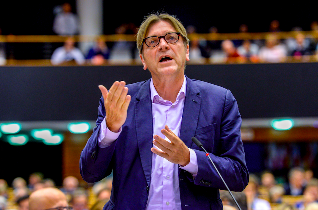 """""""It is a core mission of the European project to protect, not to diminish, the fundamental rights of all citizens."""" Guy Verhofstadt"""