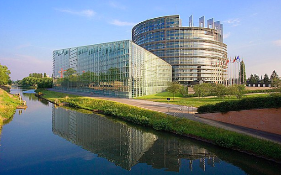 The European Parliament in Strasbourg
