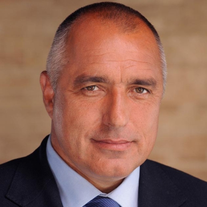 Boyko Borissov, charismatic leader of the Citizens for European Development of Bulgaria