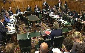Home Affairs Select Committee. Theresa May was a frequent witness from 2010-16