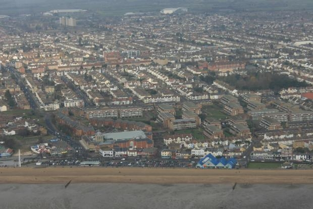 Aerial view of Thurrock